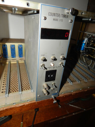 Canberra Industries Model 1772 Counter/Timer NIM BIN Module