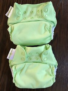 2 brand new BumGenius all-in-one cloth diapers