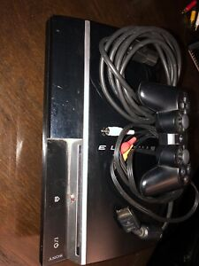 PlayStation 3 with one controller