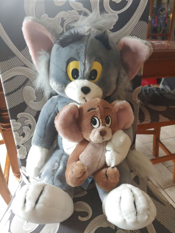 Vintage Tom And Jerry Plushes. 1980's. By presents