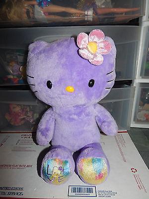 Build A Bear Workshop Sanrio Purple Hello Kitty Plush  Htf