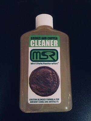 8 oz. Mint State Restoration > Coin & Artifact Ancient Bronze Cleaner