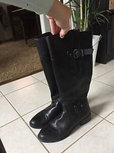 Genuine Leather Riding Style Boots