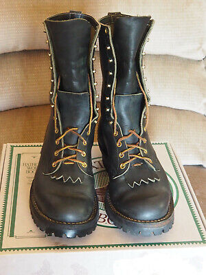 Mens Hathorn Wildland Boots - Soft Toe - Size 9.5 - D Width - 10 inch