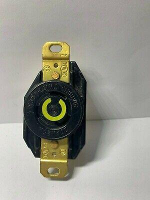 Hubbell Hbl2620 Twist-lock Receptacle 20a 125v