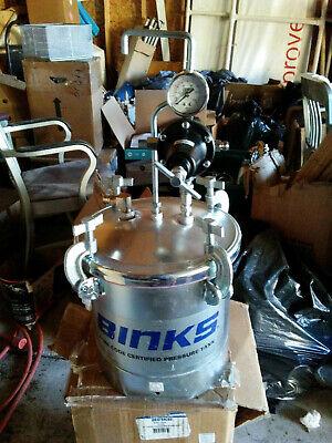 Binks- 2.8 Gallon Asme Pressure Paint Spray Tank Pot 83z-210