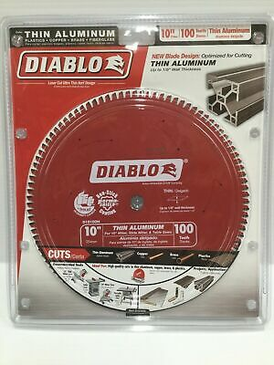 Diablo D10100N Thin Aluminum Cutting Circular Saw Blade 10