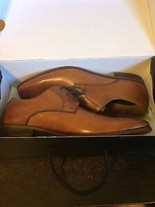 OBO Aldo Size 9.5 Brown Leather Dress Shoes