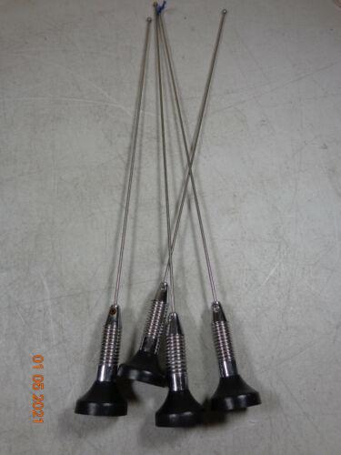 Kenwood OEM VHF 132-174 mobile Radio antenna w/spring NMO mount Motorola 1/4 wav