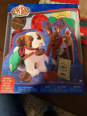 THE ELF ON THE SHELF ELF PET Dog And Reindeer Outfits New