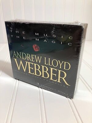 Andrew Lloyd Webber The Music The Magic Orlando Pops Orchestra 3 CD Box Set New