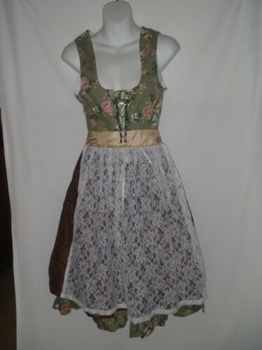 Size 36 Authentic Edelnice Trachtenmode Bavarian Womens Designer Dress