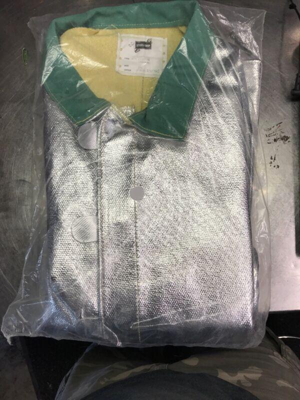 Steel Grip Aluminized Jacket Size 3XLarge ATH1136-35 3X-LARGE 1046616