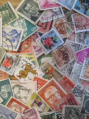 HENRY'S STAMPS  - 500 WORLDWIDE - SMALL FORMAT - USED - OFF PR