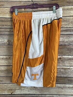 Womens ADIDAS Tennessee Volunteers Basketball Shorts Size Large Orange Athletic  Tennessee Volunteers Womens Short