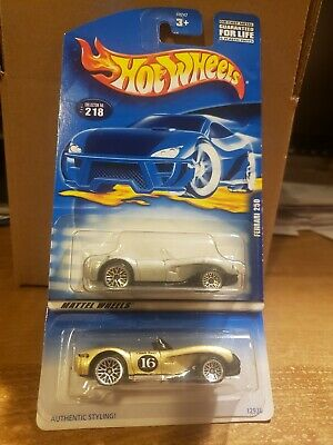 HOT WHEELS FERRARI 250 (SILVER/GOLD) 2 CAR LOT
