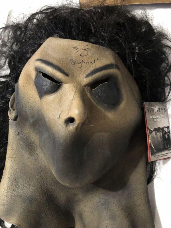 nick king signed bughuul mask