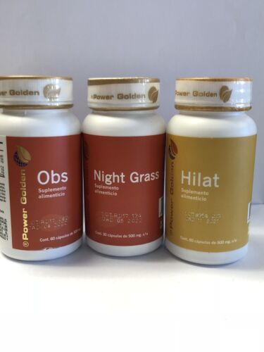 Powergolden OBS & NIGHT GRSS & HILAT Weight Loss Combo! Power Golden