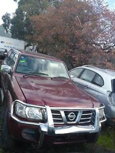 NOW WREAKING NISSAN petrol  RED COLOR ALL PARTS 2001 Dandenong South Greater Dandenong Preview