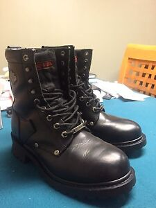 Harley Davidson riding boots 8.5 Men's