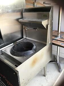 2 single gas wok burner plus 1 double gas wok burner waterless Canberra City North Canberra Preview