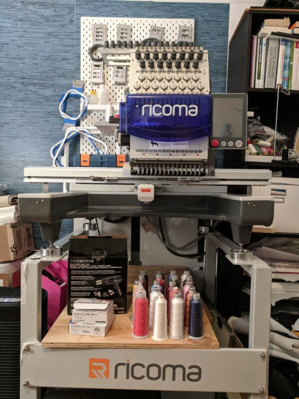 Ricoma 15 Needle Large Space Embroidery Machine SWD 1501 8s