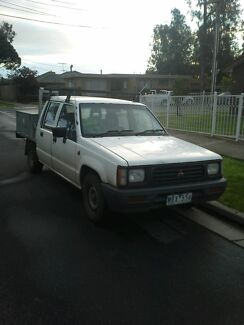 '94 Mitsi Triton DUAL CAB ute - TODAY ONLY PRICE DROP !!! Keilor Lodge Brimbank Area Preview