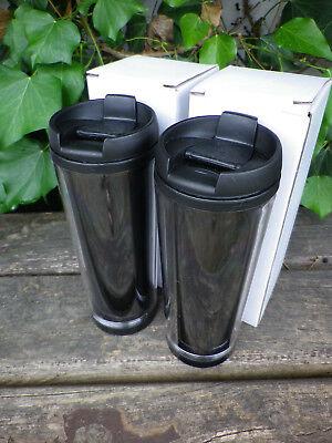 el innen/ außen Kunststoff 0,3 Liter 2er Pack (Kunststoff-becher Mit Deckel)