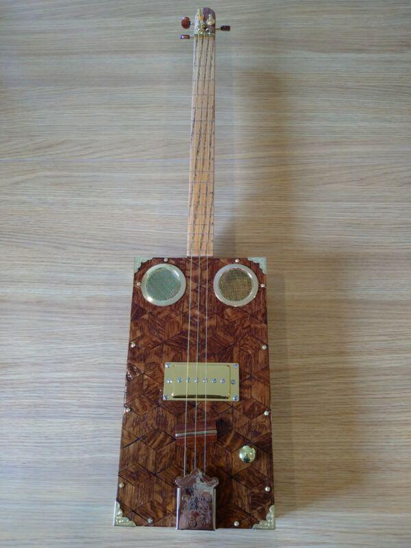 Cigar Box 3 String guitar