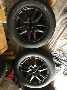 16 inch rims , fits 205 / 60 / 16