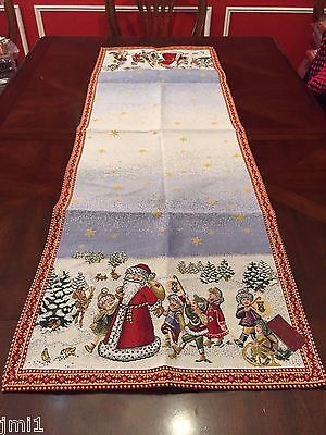Villeroy & Boch CHRISTMAS EVE 15 TOYS' DELIGHT Santa Claus Runner /Christina8185 ()