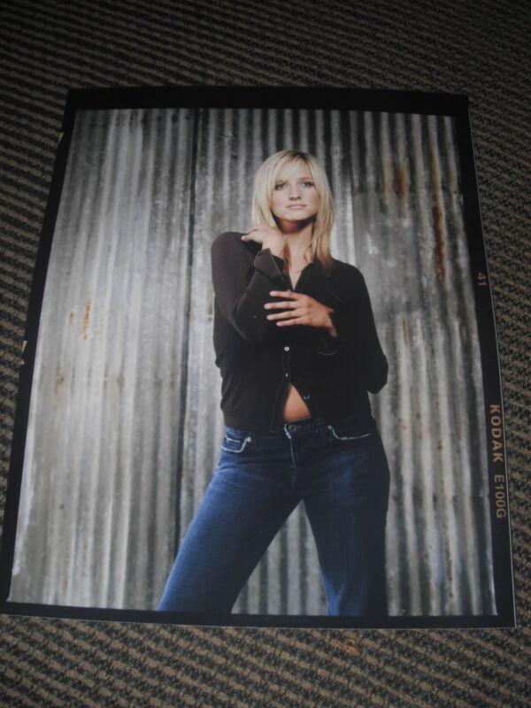 Ashlee Simpson Color 8x10 Photo Promo Picture Blonde #2