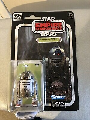 "STAR WARS BLACK SERIES 6"" INCH ESB 40th ANNIVERSARY W2 R2-D2 (DAGOBAH) New"