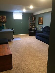 FULLY FURNISHED BASEMENT SUITE-All Utilities/cable/internet inc