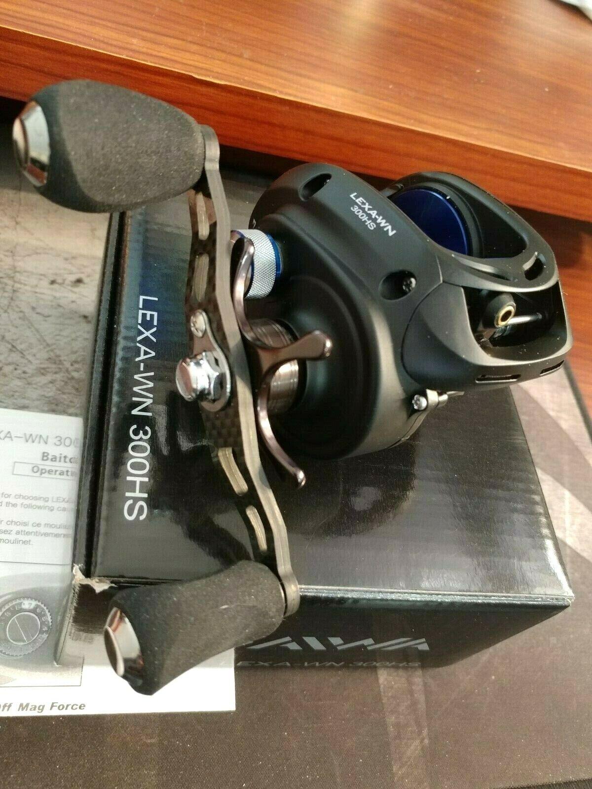Daiwa LEXA 300 TYPE-WN 7.1:1 Right Hand Baitcast Fishing Ree
