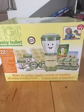 Magic Bullet - Baby Bullet food blender and storage Cammeray North Sydney Area Preview