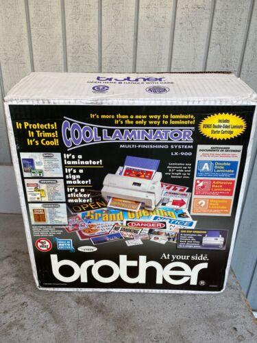 Brother Cool Laminator LX-900 Multi-Finishing System - New Open Box