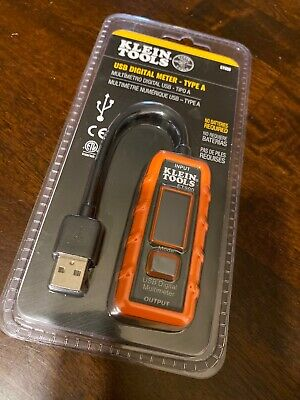 New Sealed Klein Usb Digital Meter Usb-a Type A Et900