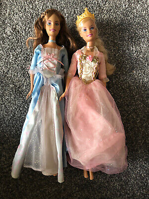 Barbie Princess and The Pauper Singing Dolls Erika and Anneliese