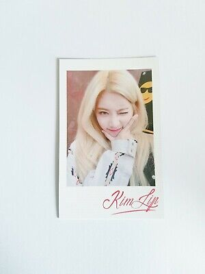 """MONTHLY GIRL LOONA Kim Lip Photocard - Official Premier Greeting """"Line&Up"""""""