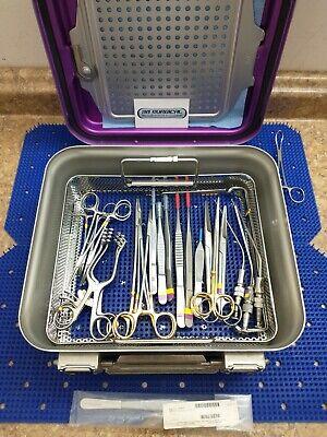 Surgical Instrument Set Needle Holder Scissor Debakey Vascular Tissue Forcep