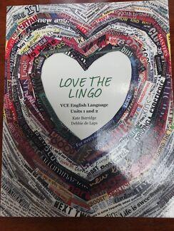 Love The Lingo - VCE English Language Units 1& 2
