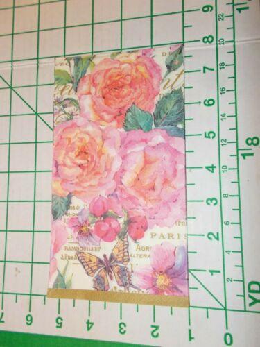 """Two Decorative Hostess Napkins for Decoupage """"Belles Fleurs"""""""