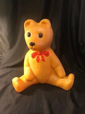 Vintage Christmas Lighted Teddy Bear Blow Mold - No Light Cord