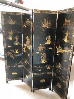 Handmade one of a kind Chinese room divider
