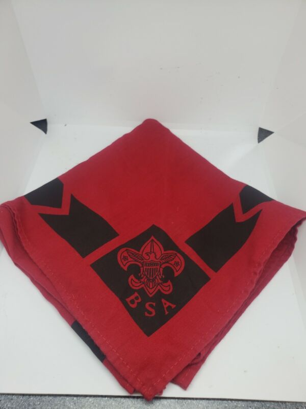 Boy Scout Red Neckerchief with BSA Symbol Boy Scouts of America 40-465L