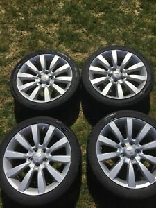 "Stock 18"" wheels off of 07' Mitsubishi Lancer"