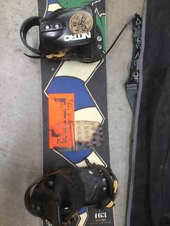 Snow board & bag