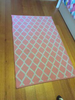 Room Rug. Modern Textile Design.  96cm x 153cm