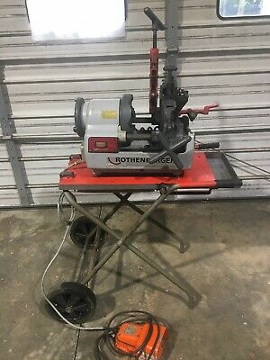 Rothenberger Supertronic 2se At Portable Pipe Threading Machine Preowned